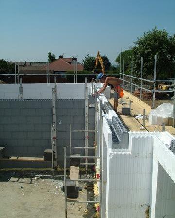 EPS-byggesystem i brug